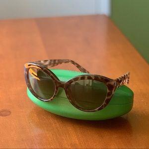 Kate Spade Sunglasses w/green case